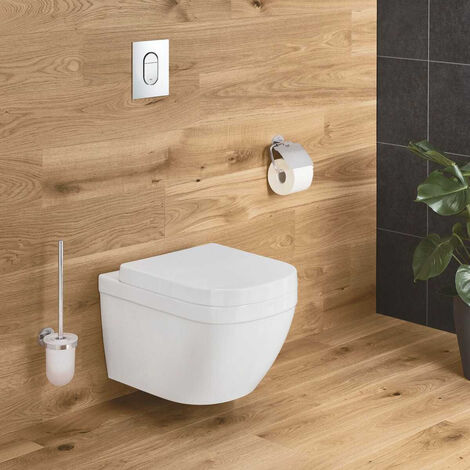Grohe EuroCeramic Wall hung WC, Alpine White + seat (39328000+39330001)