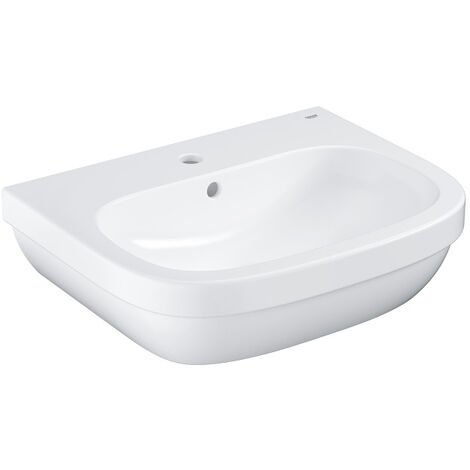 Grohe EuroCeramic Wash basin 60 with PureGuard, Alpine White (3933500H)