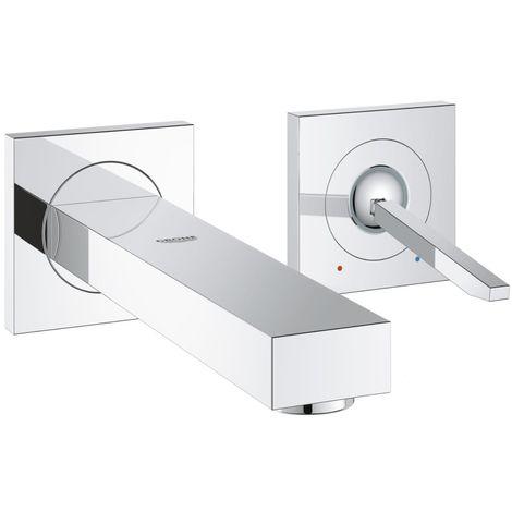 Grohe Eurocube Joy - Sink 2-hole battery M, chromium 19997000