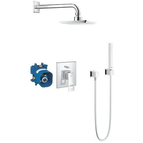 Grohe Eurocube Perfect shower set with Euphoria Cube 152 (23409000)