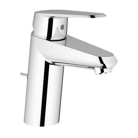 Grohe Eurodisc-Cosmopolitan Mezclador monomando para lavabo DN 15, tamaño S, montaje de un orificio, con desagüe, para calentadores de agua abiertos - 33177002
