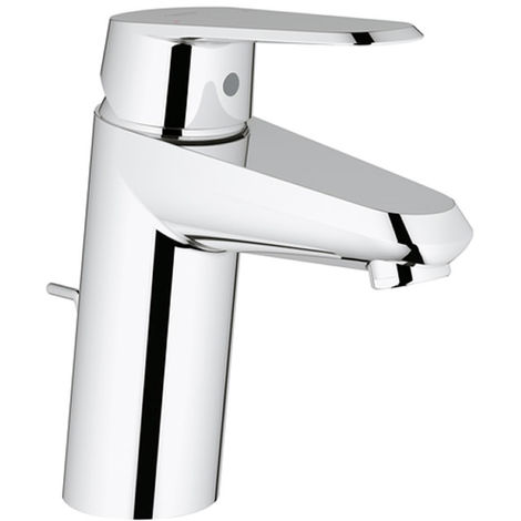 Grohe Eurodisc-Cosmopolitan single-lever basin mixer DN 15, S-size, single-hole installation, with pop-up waste - 3319020E