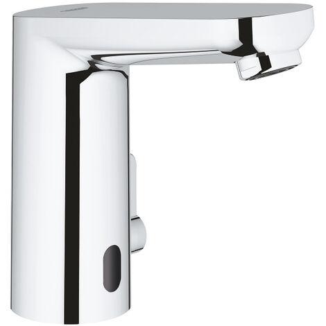 Grohe Eurosmart Cosmopolitan E Mitigeur lavabo infrarouge avec mitigeur et limiteur de température ajustable, chromé (36324001)