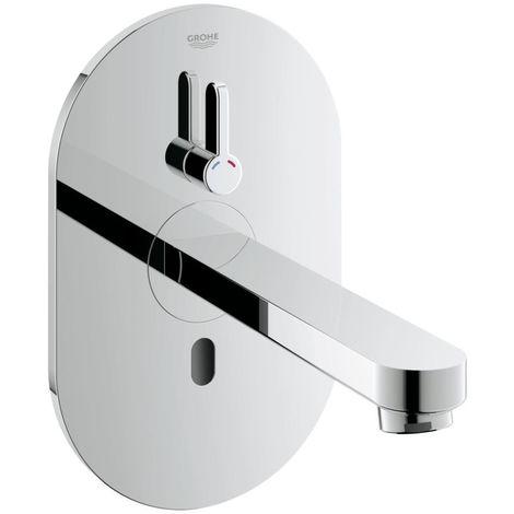 Grohe Eurosmart Cosmopolitan E Robinet infrarouge pour lavabo avec mitigeur et limiteur de température ajustable (36315000)
