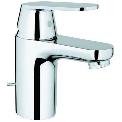Grohe Eurosmart Cosmopolitan Einhand Waschtischbatterie, S-Size mit Ablaufgarnitur, EcoJoy - 3282500E