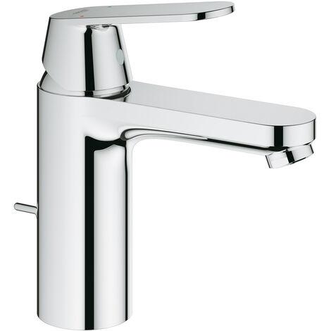 Grohe Eurosmart Cosmopolitan Mezclador monomando de lavabo, tamaño M con desagüe, EcoJoy - 23325000