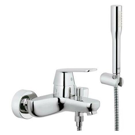 Grohe Eurosmart Cosmopolitan Mezclador monomando para bañera con kit de ducha - 32832000