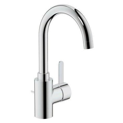 Grohe Eurosmart Cosmopolitan Mezclador monomando para lavabo, tamaño L con desagüe, con caño giratorio - 32830000