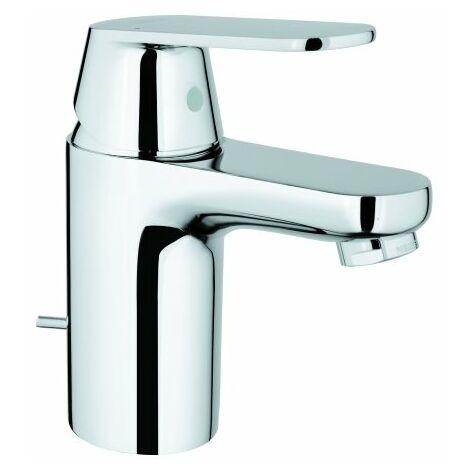 Grohe Eurosmart Cosmopolitan Mezclador monomando para lavabo, tamaño S con desagüe automático, para calentadores de agua abiertos - 32955000