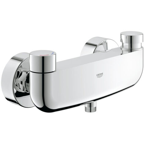 """Grohe Eurosmart Cosmopolitan T Self-closing shower mixer 1/2"""" with mixing device and adjustable temperature limiter"""