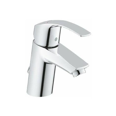 Grohe Eurosmart Miscelatore monocomando lavabo, dimensione S, Catena retrattile EcoJoy - 33188002