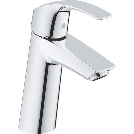 Grohe Eurosmart single lever basin mixer, M-size without pop-up waste - 23324001