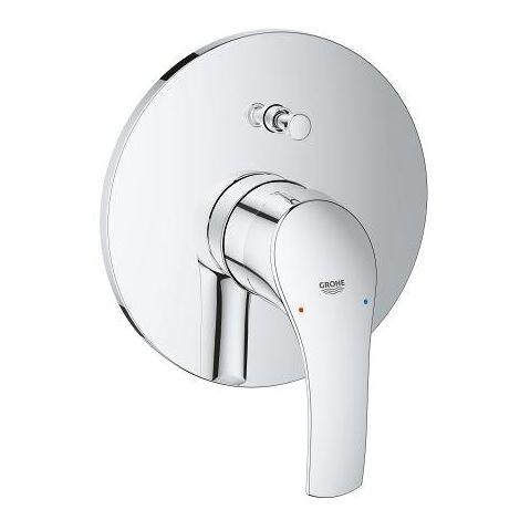 Grohe Eurosmart single lever bath mixer complete installation set - 19450002