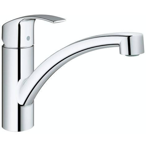 Grohe Eurosmart single lever sink mixer, high spout