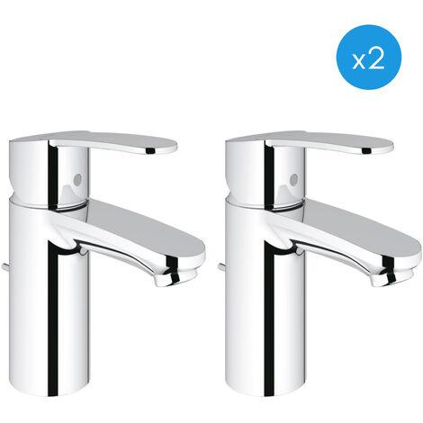 Grohe Eurostyle Cosmopolitan - Lot de 2 mitigeurs lavabo (3355220E-DUO)