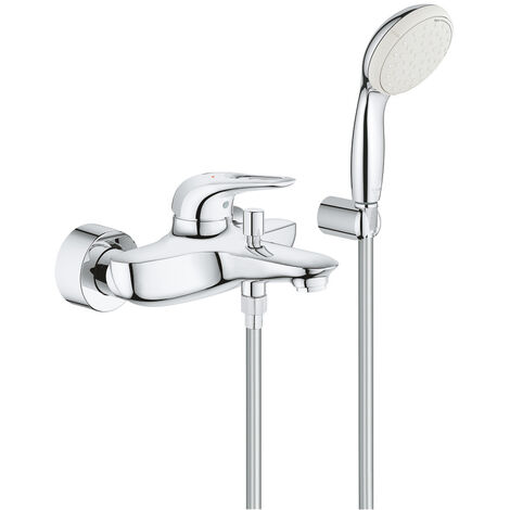 Grohe Eurostyle wall-mounted single lever bath mixer, Chrome (3359230A)