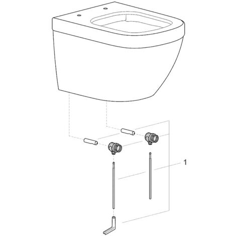 Grohe - Fixing kit Fischer for suspended WC (4902400)
