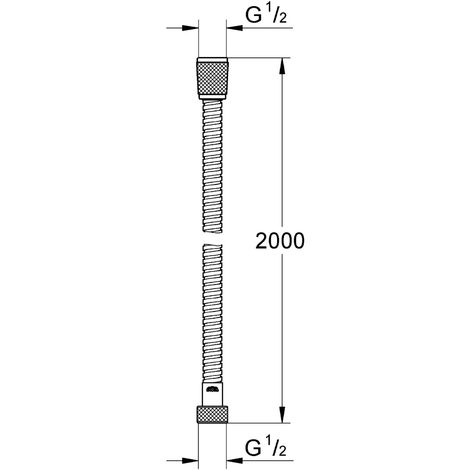 GROHE Flessibile Metallico Cromo 28145000