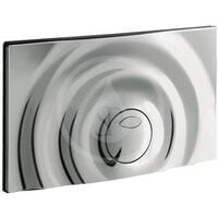 Grohe Flush Plate Surf Toilet control plate, Chrome (37859000)