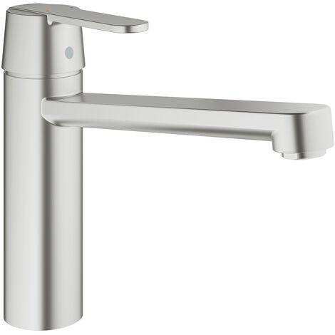 """Grohe Get Single-lever sink mixer 1/2"""", Supersteel (30196DC0)"""