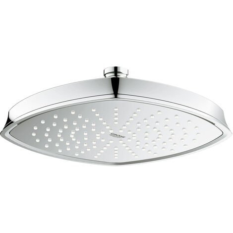 Grohe Grandera 210 douche de tête. 221x221mm, Coloris: Chrome / Or - 27974IG0