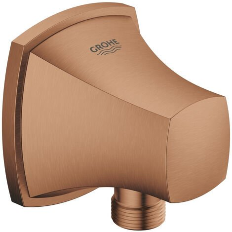 """Grohe Grandera Shower outlet elbow, 1/2"""", Brushed Warm Sunset (27970DL0)"""