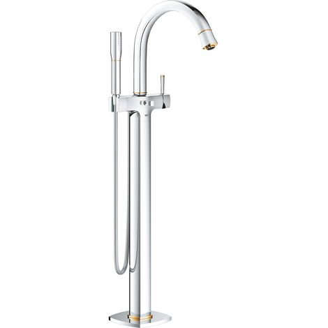 Grohe Grandera single lever bath mixer DN 15, floor mounting, 320mm projection
