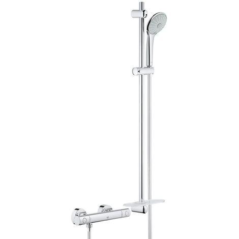 Grohe Grohtherm 1000 Juego termostático cosmopolita para ducha 900mm - 34321002