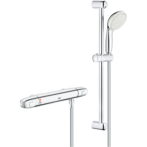 Grohe Grohtherm 1000 New Thermostatic shower mixer 1/2″ with shower set