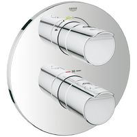 Grohe Grohtherm 2000 Thermostat with integrated 2-way diverter for bath or shower with more than one outlet (19355001)