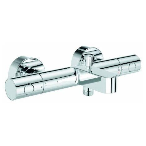 Grohe Grohtherm 800 Mezclador termostático de baño Cosmopolitan, DN 15, conectores S, cromo - 34766000