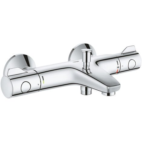 """Grohe Grohtherm 800 Thermostatic bath / shower mixer 1/2 """"(34576000)"""