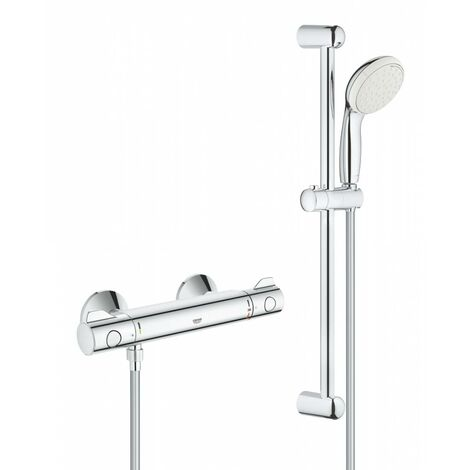 Grohe Grohtherm 800 Thermostatic Shower Mixer 1/2? With Shower Set