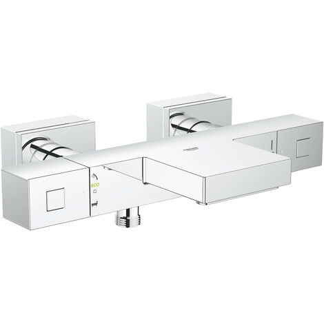 Grohe Grohtherm Cube mitigeur thermostatique bain / douche 1/2