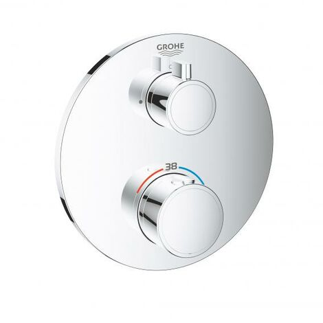 Grohe Grohtherm mezclador termostático de ducha para Rapido SmartBox, 1 consumidor, cromo - 24075000