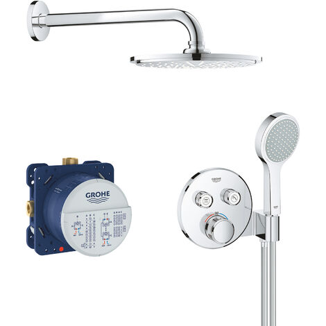 Grohe Grohtherm SmartControl Set de douche 210mm (34743000)