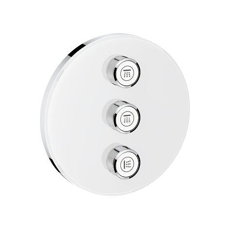 GROHE 29158LS0 Grohtherm SmartControl Panneau de contr/ôle 3 sorties Blanc