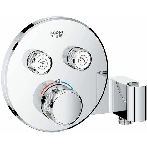 Grohe Grohtherm SmartControl Termostato empotrado con 2 llaves y soporte de ducha integrado (Ref. 29120000)