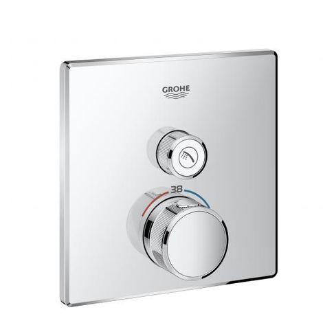 Grohe Grohtherm SmartControl Thermostat mit einem Absperrventil