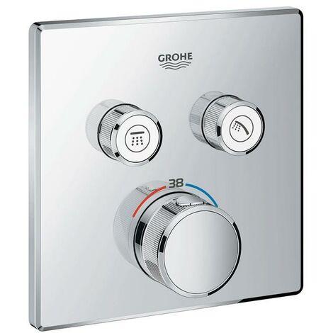 Grohe Grohtherm SmartControl Thermostat mit zwei Absperrventilen
