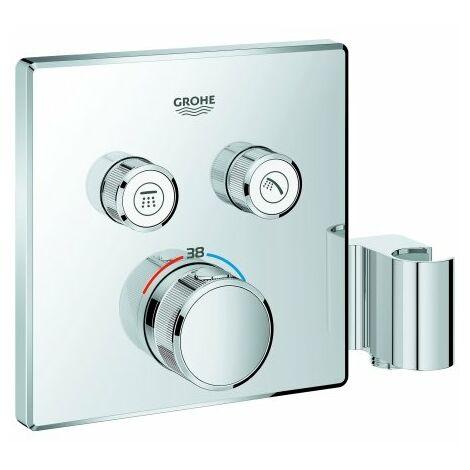 Grohe Grohtherm SmartControl Thermostat mit zwei Absperrventilen, integrierter Brausehalter - 29125000