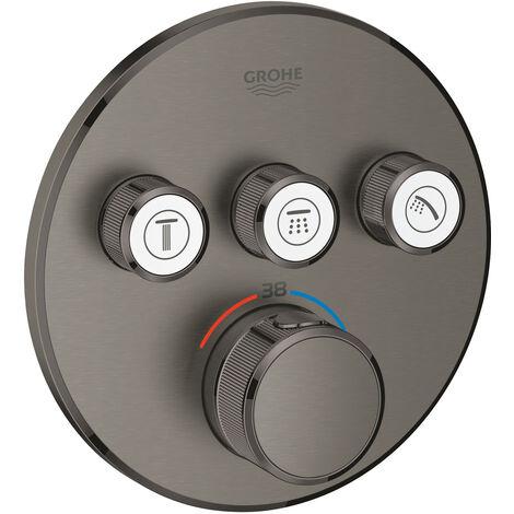 Grohe Grohtherm SmartControl Thermostatique pour installation encastrée 3 sorties (29121AL0)