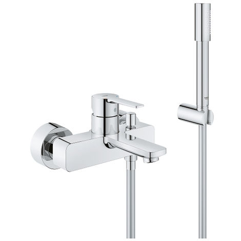 "Grohe Lineare Single-lever bath/shower mixer 1/2"" (33850001"
