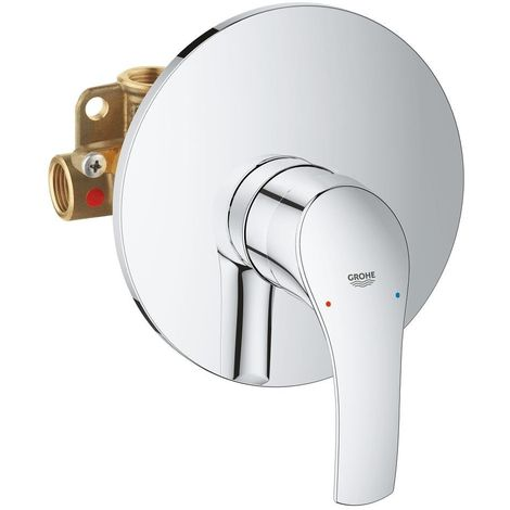 Grohe Mezclador Monomando de ducha 1/2″ Eurosmart 33556002   cromado brillante