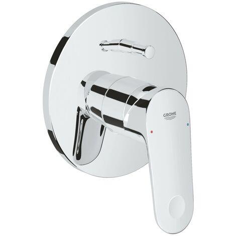 Grohe Mezclador Monomando empotrado para bañera/ducha Europlus C 19536002 | Cromado