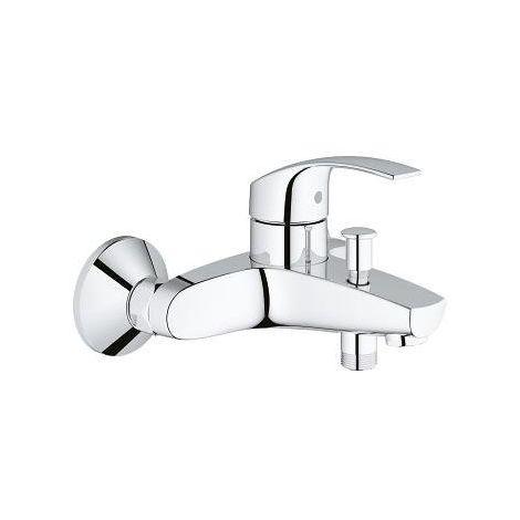 Grohe mezclador Monomando para baño y ducha 1/2″ Eurosmart 33300002 | cromado brillante