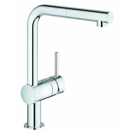 Grohe Minta Mezclador monomando de disipador de baja presión para calentadores de agua abiertos - 31397000