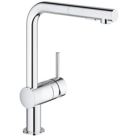 "Grohe Minta Single-lever sink mixer 1/2"", chrome (30274000)"