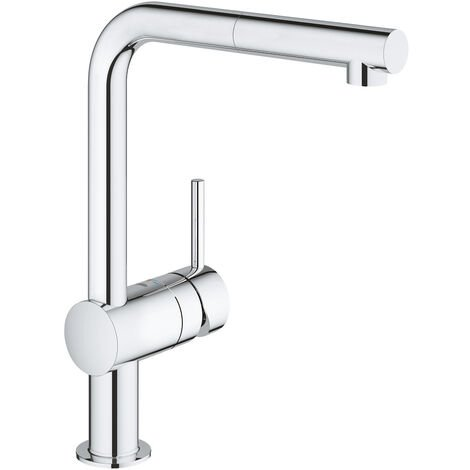Grohe Minta Single-lever sink mixer 1/2″, Chrome (31397000)