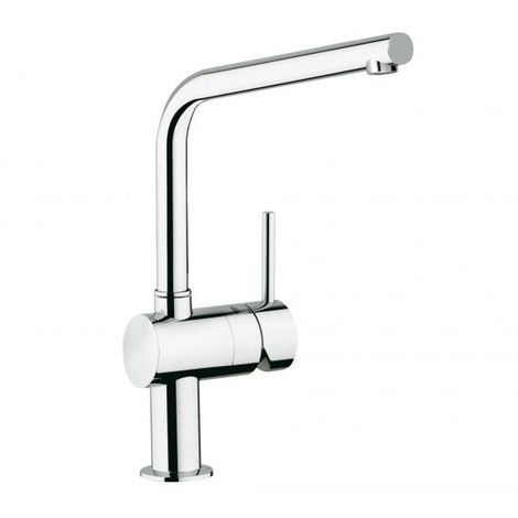 Grohe Minta single lever sink mixer, DN 15, 31375, L-drain